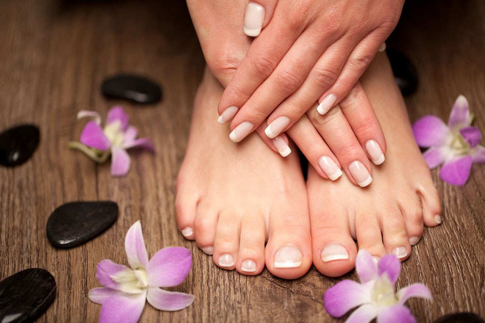 a Pedicure at Home