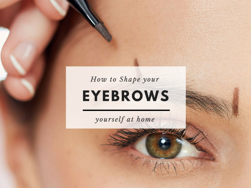 How To Fill In Your Eyebrows With Pencil And Powder